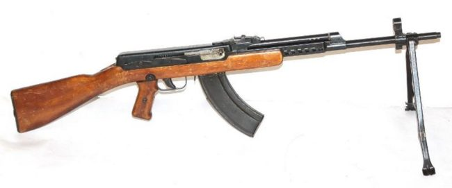 Sudaev AS-44 assault rifle