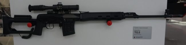 Kalashnikov TG3 gun