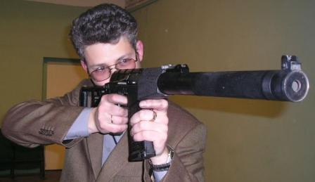 Author prepares to fire AS