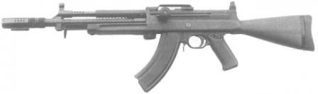 Madsen light automatic rifle LAR, caliber 7.62x39 M43 Soviet, made for Finnish assault rifle trials