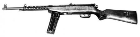 Cristobal Model 1962 assault rifle / carbine