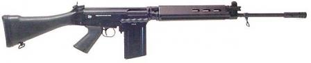 Brazilian IMBEL LAR - another license built FN FAL, one of few FAL models still in production now