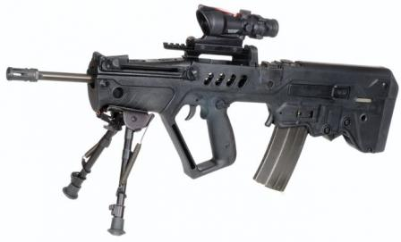 Tavor STAR 21 (designated marksman) rifle