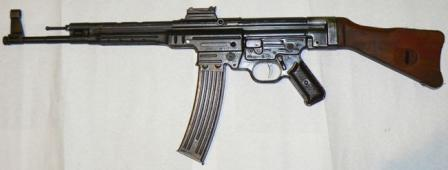 MP 43 assault rifle, the first production variant of the Sturmgewehr, left side