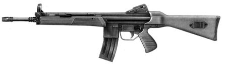 CETME Mod. L assault rifle