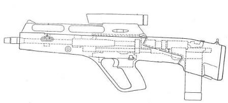Steyr ACR layout shematic