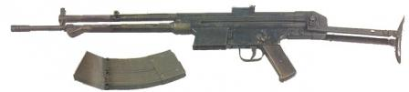 Early CETME assault rifle prototype chambered for experimental 7.92x40mm cartridge