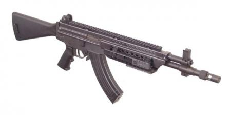 Robinson Armaments M-96 RAV-02 assault rifle (selective-fired), version chambered for 7.62x39mm