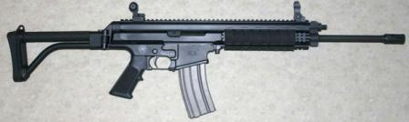 Robinson Armaments XCR rifle, caliber 5.56x45mm