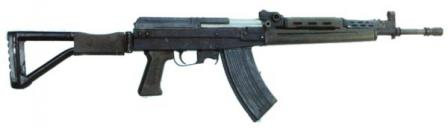 Type 87 experimental assault rifle, a predecessor to Type 03