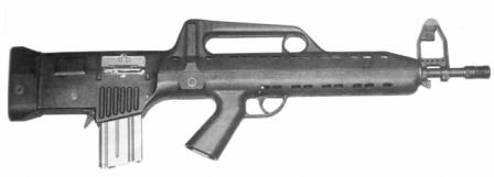 LAPA FA 03 assault rifle (Brazil)