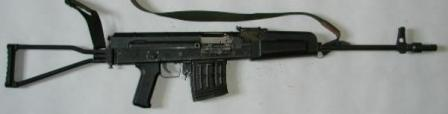 Czech-made LCZ B20 (AVB-7,62) prototype automatic rifle, chambered for 7,62x51NATO ammunition