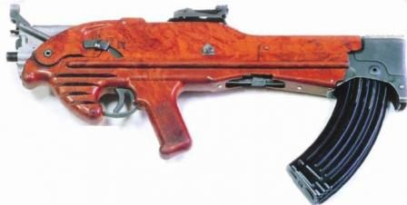 7.62mm Korobov TKB-022 experimental assault rifle, first model in the TKB-022 line, circa 1962