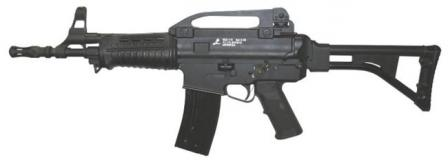 Pindad SS2-V5 assault rifle