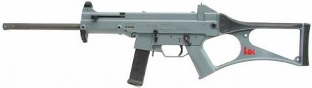 Heckler-Koch HK USC carbine,left side.