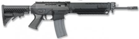 SIG 556 semi-automatic rifle,right side.