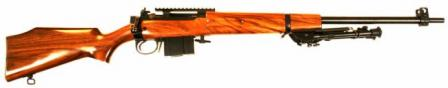 AIA M10B2 rifle, 7.62x51 / .308 Win caliber with optional bipod and Picatinny rail.