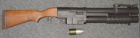 the EX-41 grenade launcher, developed by China Lake Research Facility of US Navy.