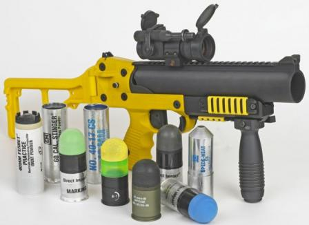 LL-06 - a dedicated less-lethal version of the GL-06, intended for police application, with array of available less-lethal and practice munitions
