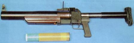 Original RGS-50 grenade launcher, as made for KGB in 1980s.