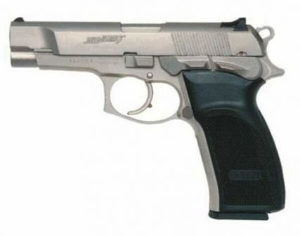 Bersa Thunder Nine (caliber 9x19mm Luger, Bersa Thunder 40 looks exactly the same).