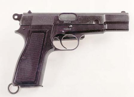 Browning High Power made by FN (model 1935).