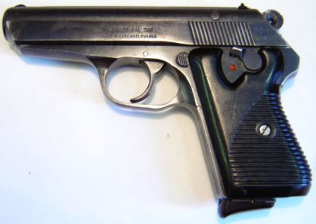 Vzor 70 (Vz.70) pistol, also known as Cz-70