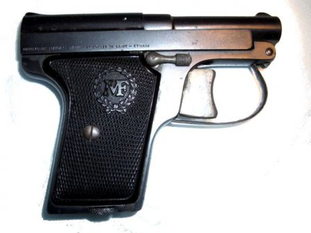 Manufrance Le Français Pocket pistol, original model in 6.35mm caliber