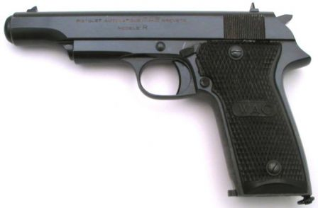 9mm MAB Model R pistol, the 8-shot predecessor / prototype to PA-15