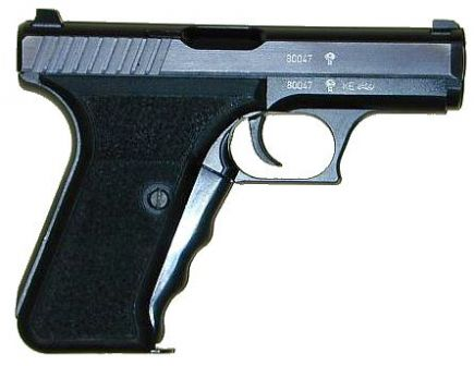 Heckler-Koch P7 PSP pistol, right side.