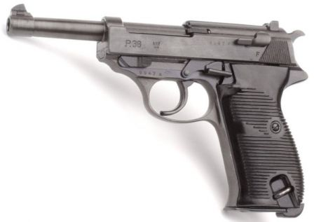 Walther P38, produced in 1944 for Hitler's army.