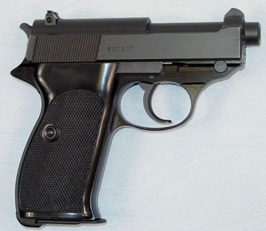 Walther P38K, a short-barreled version of P4 produced for KSK during early 1980s.