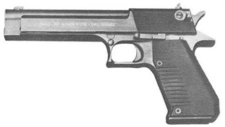 Original Eagle 357 pistol, circa 1982.