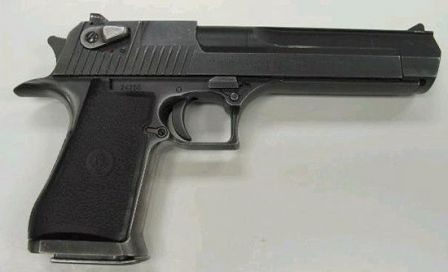 Desert Eagle mark VII pistol, caliber .44 Magnum.