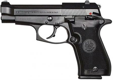 Beretta model 85FS, 9mm Short.