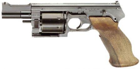 Mateba MTR-8 revolver