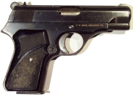 Zastava M70 pistol, right side.