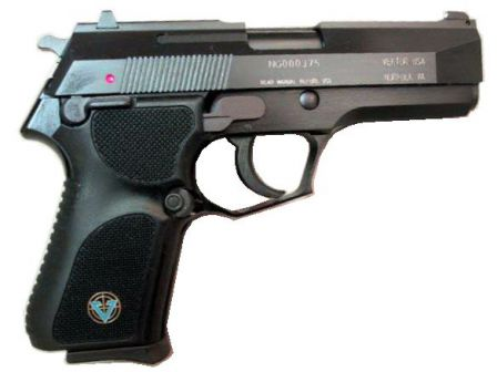 Vektor SP1 pistol, General's (compact) model.