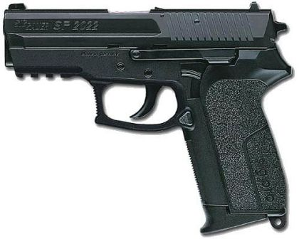 SIG-Sauer SIG Pro SP 2022 pistol, developed for French police and gendarmerie forces.