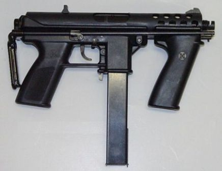 Prototype Interdynamic MP9 submachine gun