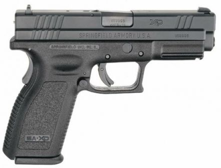 Springfield eXtreme Duty / XD pistol, caliber 9mm