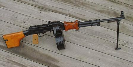 Type 56 LMG - a Chinese-made RPD copy.