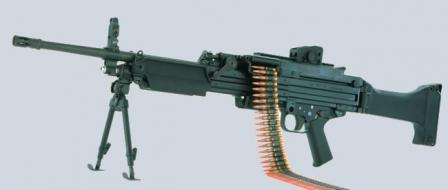 Early version of the HK MG 43 machine gun.