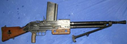MAC Mod. 1924/29 light machine gun, right side.