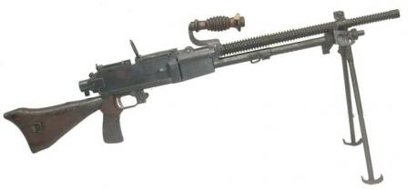 6.5mm Type 96 light machine gun, less magazine.