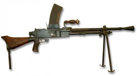 7,7mm Type 99 light machine gun.