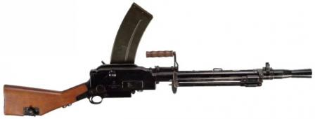 Madsen model 1948 light machine gun, Denmark.