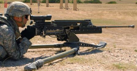 GD LW50MG lightweight .50 caliber machine gun (USA)