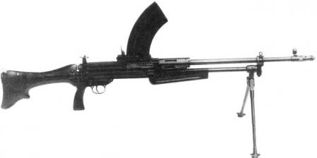Vickers-Berthier Mk.2 light machine gun.
