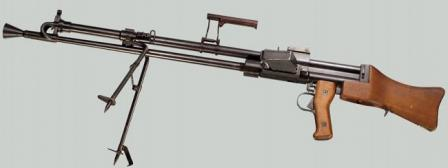 Swedish Knorr-Bremse Kg. m/40 light machine gun, caliber 6.5mm.